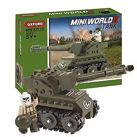 Đồ chơi xe tăng quân sự - Đồ chơi trẻ em lắp ráp Oxford MW33110 gồm 153 mảnh ghép nhựa ABS phát triển tư duy