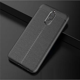 Ốp lưng silicon dẻo giả da Auto Focus cao cấp dành cho Huawei Nova 2i - Hàng chính hãng
