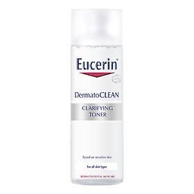 Nước Cân Bằng Cho Da Nhạy Cảm Eucerin DermatoCLEAN Clarifying Toner (200ml)