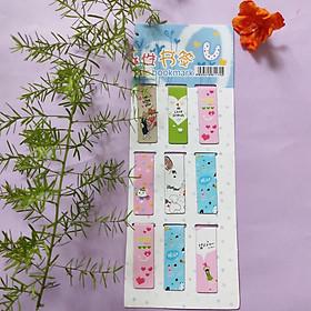 Combo 9  Bookmark Nam Châm Đánh Dấu Sách - Love (Mẫu Ngẫu Nhiên)