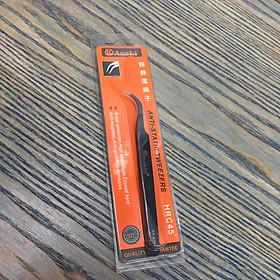 Nhíp gắp linh kiện tĩnh điện mũi cong Asaki AK-9205