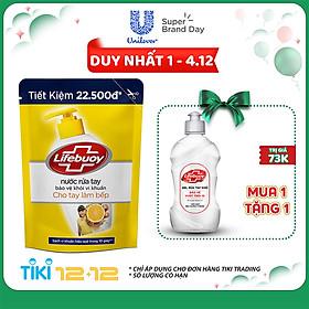 Nước Rửa Tay Diệt Khuẩn Lifebuoy Cho Tay Làm Bếp Túi 21165431 (450g)