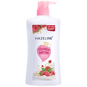 Sữa Tắm Dưỡng Sáng Da Hazeline Yến Mạch & Dâu Tằm (670g)