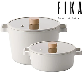 [Hàng chính hãng] Bộ 2 nồi 22cm Fika Neoflam - Hàn Quốc. Sản phẩm nhập khẩu chính hãng, hàng có sẵn cung cấp ngay