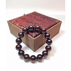 Vòng tay phong thủy đá Garnet Đỏ (Ngọc Hồng Lựu) 14 ly