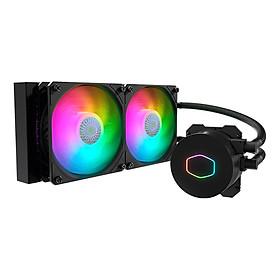 Tản nhiệt CPU Cooler Master MASTERLIQUID ML240L ARGB V2 phiên bản 2020 - Hàng chính hãng