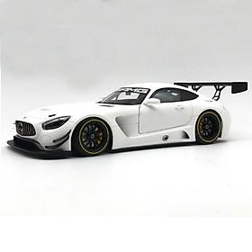 Xe Mô Hình Mercedes-Amg Gt3 Plain Color Version 1:18 Autoart - 81531 (Trắng)