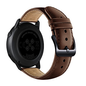 〖Follure〗Leather Replacement Watch Wrist Strap Band For Samsung Galaxy Watch active 20mm