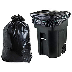 combo 2kg Túi rác công nghiệp size 90*120 cm (8 cái)