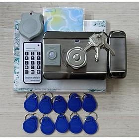 Bộ khóa cửa điện hồng ngoại tích hợp thẻ từ RFID đa năng tặng kèm 10 thẻ - Hàng nhập khẩu