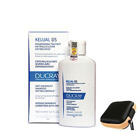 Ducray Kelual DS Anti-Dandruff Shapoo: Dầu gội sạch gầu, dịu ngứa và đỏ da đầu (100ml)