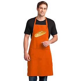 Tạp Dề Làm Bếp In Hình Chiếc Bánh Mì - Mẫu002