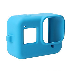 Silicone Protective Housing Case Shell with Lanyard Compatible with GoPro Hero 8 Action Camera