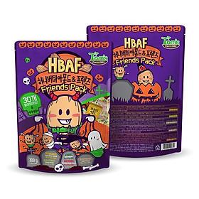 Combo 2 gói Hạnh nhân Hàn Quốc bản Halloween Tomsfarm HoneyButter Almond Friends 300g 2ea