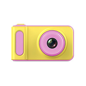 Mini Lovely Kids Digital Video Camera 2.0 Inch Display Built-in Lithium Battery With Cartoon Stickers Birthday Festival