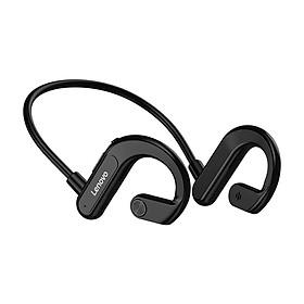 Lenovo X3 Wireless Headphone BT 5.0 Titanium Bone Conduction Earphone IPX5 Sweatproof Waterproof Sports Headset Black