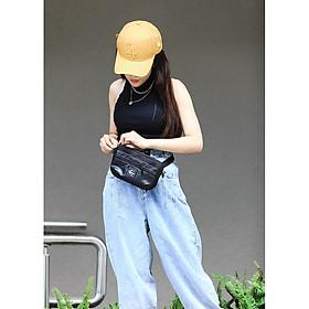 Túi đeo chéo - Túi bao tử 2 in 1 HENKA BLACK [Back To Basic]