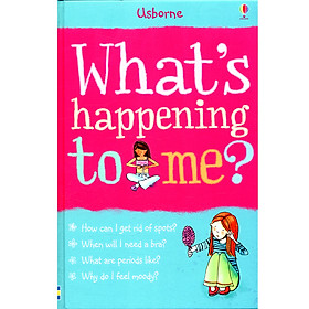 Usborne What's happening to me? (girls) (Library edition hardback)