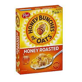 Ngũ cốc yến mạch rang mật ong Post Honey Bunches of Oats Honey Roasted
