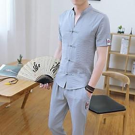 ( Xả hàng giá tốt ) BCT Bộ đũi nam đẹp phong cách Hàn quốc!