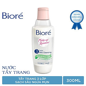 Bioré Nước Tẩy Trang 3 Lớp Sạch Sâu Ngừa Mụn Bioré Make Up Remover Acne & Pore Care