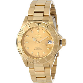 """Invicta Men's 13929 """"Pro-Diver"""" 18k Gold Ion-Plated Automatic Watch"""