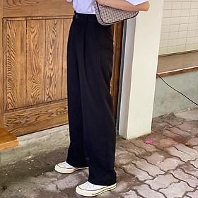 Quần vải EMMA BLACK PANTS