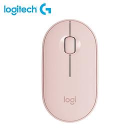 Logitech Pebble Wireless Mouse BT Mouse BT 2.4 GHz USB Receiver Dual Connectivity Slim Optical Computer Mice For Laptop