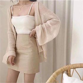 Áo cardigan mỏng- chất len siêu mềm