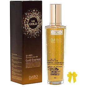 Serum tinh chất vàng 24k dưỡng da xóa xạm thâm Dabo Gold Essence Hàn quốc (150ml) và nơ