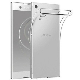 Ốp lưng silicon dẻo trong suốt loại A cao cấp cho Sony Xperia XA1