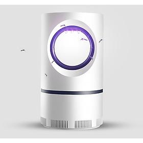 Máy bắt muỗi hình tròn cắm cổng USB model M188 - Tặng kèm 02 đèn ngủ cắm usb