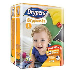 Tã Quần Drypers Drypantz Cực đại L48 (48 Miếng)-1