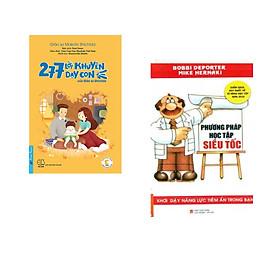 Combo 2 cuốn sách: 277 Lời Khuyên Dạy Con Của Giáo Sư Shichida + Phương Pháp Học Tập Siêu Tốc