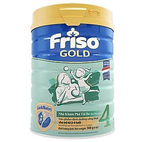 Sữa Bột Friso Gold 4 Cho Trẻ Từ 2-4 Tuổi 900g