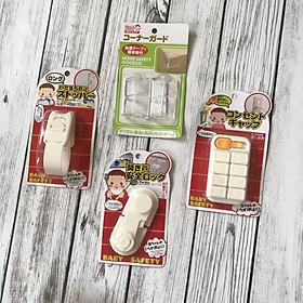 Combo 4 sản phẩm bảo vệ an toàn cho bé (an toàn điện - góc cạnh - tủ lạnh - ngăn kéo - tủ bếp))