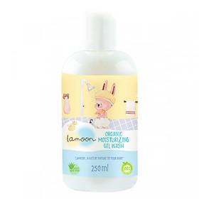 Sữa tắm gội Organic cho bé dạng gel Lamoon - Bình 250ml