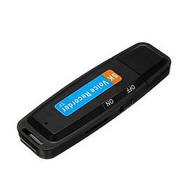 Máy Ghi Âm Cầm Tay Mini Hỗ trợ Thẻ TF USB WAV Sạc Lại