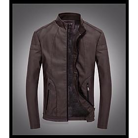 áo khoác da nam  09