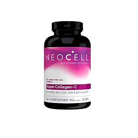 Collagen Mỹ NEOCELL Đẹp Da Khỏe Khớp Super Collagen +C  (250 Viên)