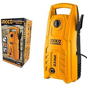 MÁY XỊT RỬA XE CAO CẤP INGCO HPWR14008 (1400W)  (tặng bộ 3 khớp nối máy xịt rửa  + 4m dây cấp nước)