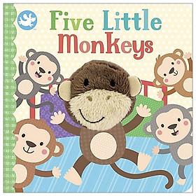 Little Me Finger Puppet Book - Five Little Monkeys