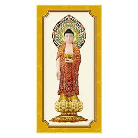 Tranh Nội Thất Phòng Thờ Phật Giáo HPV-114 (30 x 60 cm)