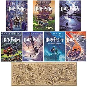 Combo Harry Potter (Trọn Bộ 7 Cuốn ) + Tặng Kèm Bản Đồ Phép Thuật