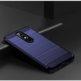 Ốp lưng chống sốc Vân Sợi Carbon cho Nokia 5.1 Plus