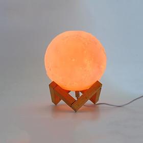 Đèn ngủ mặt trăng ML3D-1516, Đèn mặt trăng 16 màu 15cm, Điều khiển từ xa