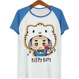 Áo Thun Nam Cô Bé Kitty - ATCP154