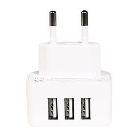 Adapter Sạc 3 Cổng USB Remax RP-U31 3.1A