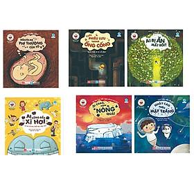Cuốn sách mang đến kiến thức khái quát cho bé:  Combo 6 Quyển Những Câu Chuyện Khoa Học Dành Cho Thiếu Nhi