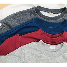 Áo nỉ lót lông xuất Hàn cho bé trai 5-15 tuổi (giao màu ngẫu nhiên)-3